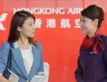 Hong Kong Airlines X Olay Aquaction Mask Promo